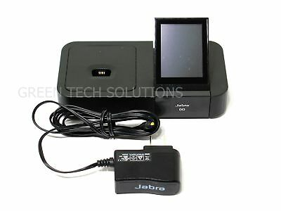 Jabra GO 6400 Touch Screen Bluetooth DECT Charging Base GO6400BS w/ Adapter