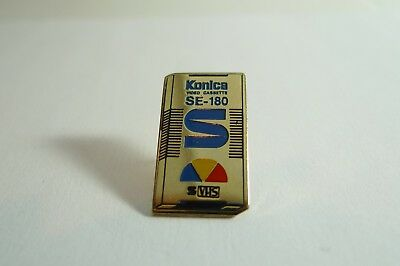 Pins Pin's - Konica Se 180 Vhs Video Cassette