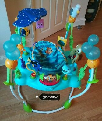 Finding Nemo jumperoo disney sea of activities bouncer baby toy activity jumping