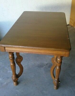 Tell City Chair Company Hard Rock Maple Table and 4 Chairs