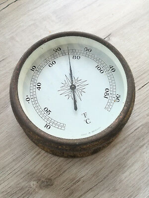 altes großes Schiffsthermometer Thermometer