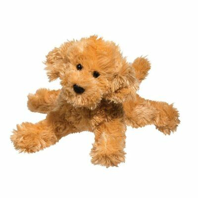 """8"""" Labradoodle Puppy Plush Stuffed Animal Toy - Ships Today, Arrives in 3!"""