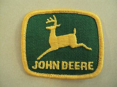 RARE NEW VINTAGE JOHN DEERE PATCH 2 1/2 x 2 1/4 INCHES