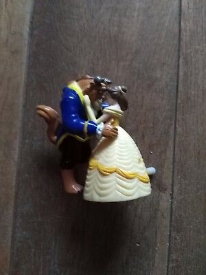 Beauty and the Beast Wind Up Dancers Ideal toy or cake topper