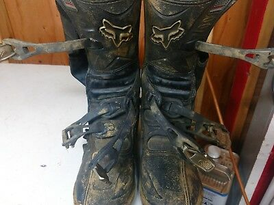 youth size 6 fox motocross boots