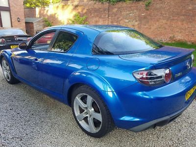 mazda rx8 231 BHP 2007 spares or repair  moted DRIVES