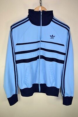 vtg 80s ADIDAS FIRST RARE VENTEX TRACK JACKET TRACKSUIT TOP CASUALS size D5/48 M