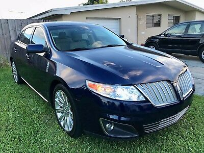 2011 Lincoln MKS  Lincoln MKS 2011 4dr  all extras blue-beige Luxury