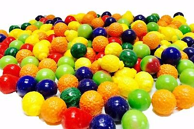 Dubble Bubble Seedling Fruit Gumballs - 850 ct Gum Double Ball Seed Filled Candy