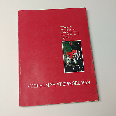 vtg 1979 Spiegel Christmas Catalog wishbook clothes Star Wars Fisher Price toys