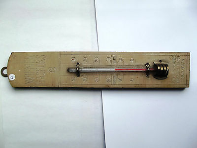 Zimmer-Thermometer  Antik   ( 4 )