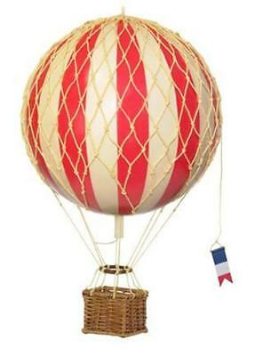 Authentic Models Travels Light True Red Hot Air Balloon