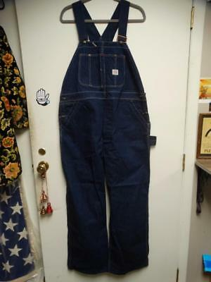 1940's Vintage PAY DAY Denim Overall's 40x30 Excellent ~ Hardly Worn If Ever  NR