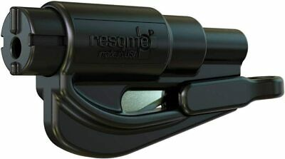 Resqme The Original Keychain Car Escape Tool, Made in USA, Black