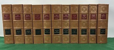 Book lot, The Story of Civilization by Durant, Easton Press Leather, 11 Volumes
