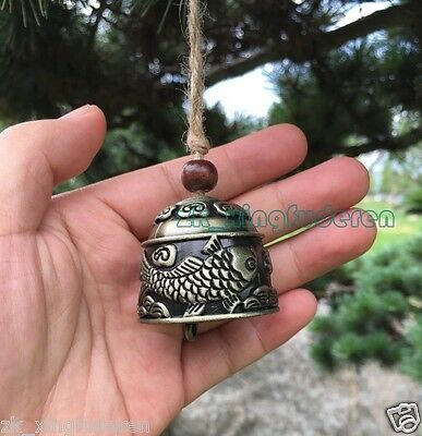 Chimes metal carp fish bell aeolian bells Lucky fengshui hang design meditation