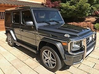 2014 Mercedes-Benz G-Class G63 2014 MBZ G63 T6 AMG LUXURY AMORED VEHICLE PREVIOUSLY OWNED LARRY ELLISON VEHICLE