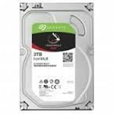 "Seagate 3000GB (3TB) 5900RPM 3.5"" SATA-III Gbps NAS 64M Cache  IronWolf NAS"
