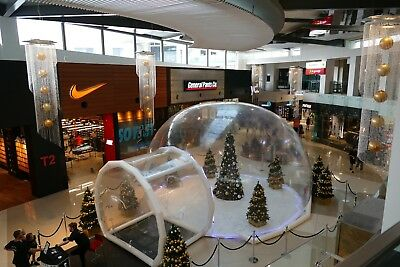 Giant Inflatable Snow Globe - Money Maker!! Business Opportunity!