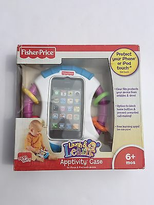 Fisher Price Apptivity Case New iPhone 3G/3GS/4/4S iPod Touch 2nd 3rd 4th gen.
