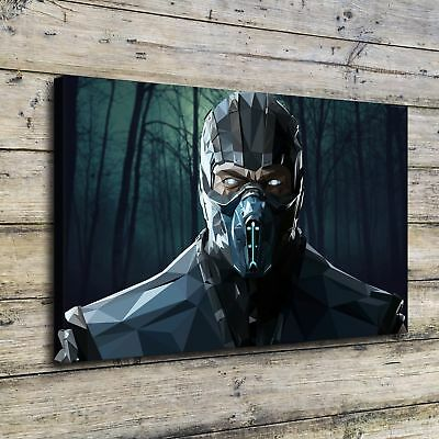 Mortal Kombat X Paintings HD Print on Canvas Home Decor Room Wall Art Poster