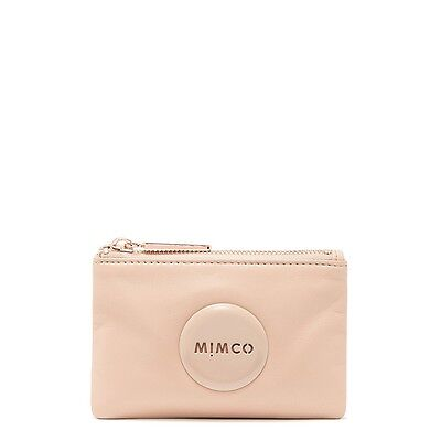 NEW STOCK! BNWT MIMCO PANCAKE LEATHER  SMALL POUCH  RRP69 -Express