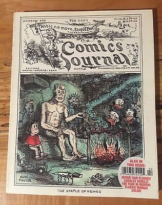 The Comics Journal # 250 Fanzine Super Giant Ec Comics Carl Bark John Stanley