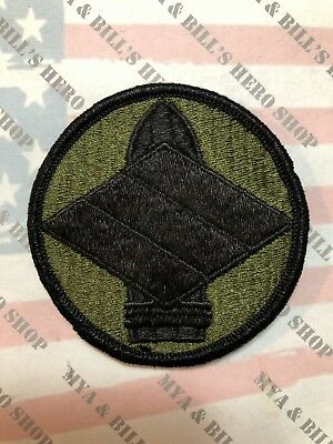 US Army Subdued 142nd Field Artillery FA Brigade Unit Patch Sew On