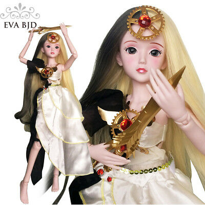 "Athena 1/3 BJD SD Doll Girl 24"" 60cm 19 jointed dolls Toy Goddess + Accessory"