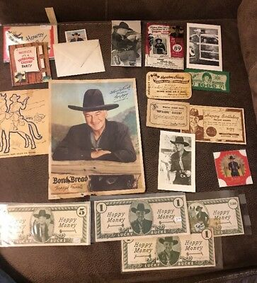 Large Lot: Hopalong Cassidy Western Premium Collectibles Cards