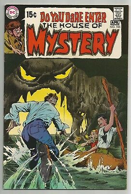 House Of Mystery No. 185 Apr. 1970 N. Adams Cover A. Williamson Art Dc Comics Vf