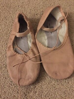 Used ABT American Ballet Theatre Spotlights Ballet Shoes Girls Size 1 1/2
