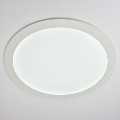 LED Panel Downlight Rund Einbaupanel 25W ECO 295mm 2000Lm Warmweiß