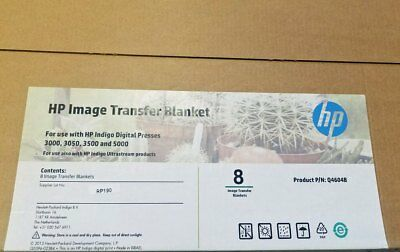 HP INDIGO IMAGE TRANSFER BLANKETS -Q4604B 1 box with 8 blanket