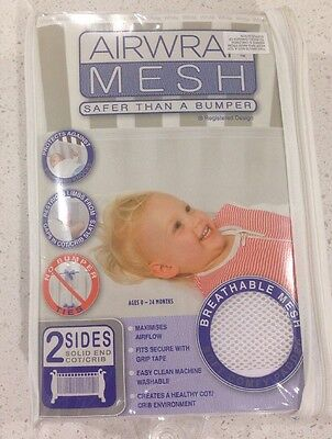 Airwrap Mesh 2 Sides - White - Perfect Condition. Bargain RRP $40