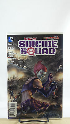 New Suicide Squad #2 1:25 Meghan Hetrick Variant Cover Dc Comics 2014