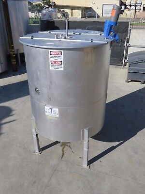 1700 gallon stainless mixing tank