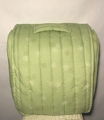 Baby Delight SNUGGLE NEST Infant SLEEPER Music Light Green Polka Dots Print