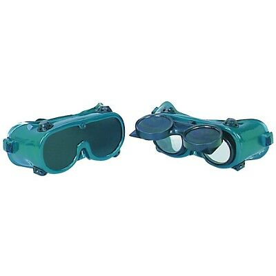 WELDING GOGGLES SET 2 PC Includes Flip Front And Permanent Number 10 Lenses