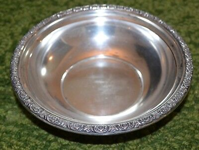 International Prelude Sterling Silver Bowl Numbered B179