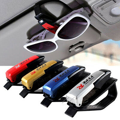 Car Sun Visor Organizer Car Sun Visor Clip Glasses Sunglasses Card Holder Great