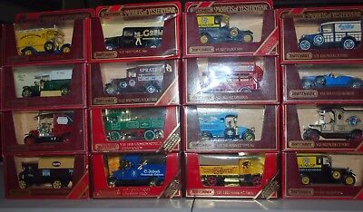16 X Matchbox Models of Yesteryear Mixed Lot