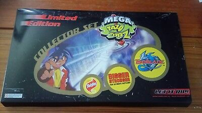 Beyblade mega Tazo's topz Collector set. limited edition Number 1111/1500