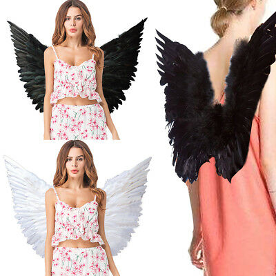Large Angel Wings Fairy Feather Fancy Dress Costume Adult Party Hen Halloween