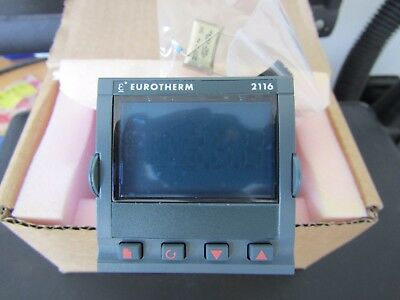 Eurotherm 2116 PID Temperature Controller 48x48 (1/16 DIN) 2 Output A1 2082745