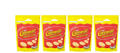 909327 4 x 110g PACKETS OF NESTLE'S CARAMAC GIANT CARAMEL BUTTONS LOVE TO SHARE!