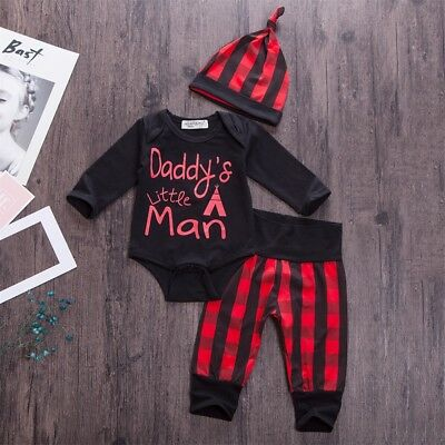 Newborn Kid Baby Boy Girl Deer Clothes Jumpsuit Romper Bodysuit Pants Outfit Set