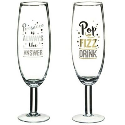 New Beautiful Decorative Giant Prosecco Glass perfect gift for Prosecco lovers.
