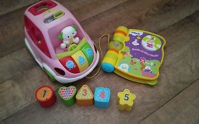 vTech Baby Sort and Learn Car and electronic book