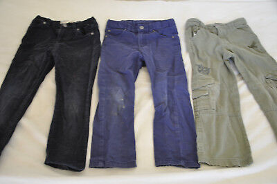 3 X boys pants size 4 - H&M, Lonsdale and Cotton On Kids. Great for Kinder